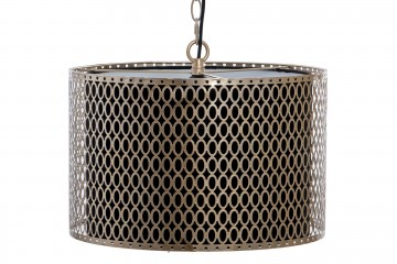 LAMPARA TECHO METAL 41x41x142 CM