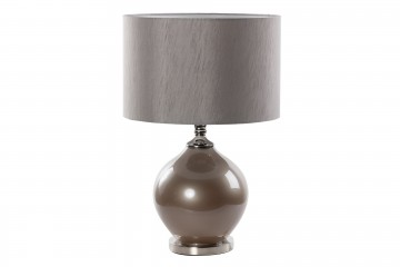 LAMPARA SOBREMESA CRISTAL 38x38x77 CM