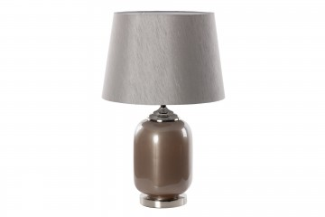 LAMPARA SOBREMESA CRISTAL 33x41x87 CM