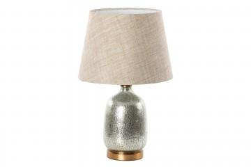 LAMPARA SOBREMESA CRISTAL 23x30x66 CM