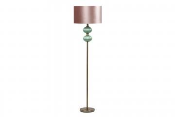 LAMPARA SUELO CRISTAL 46x46x172 CM