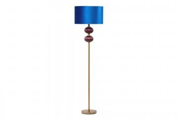 LAMPARA DE SUELO CRISTAL 46x46x198 CM