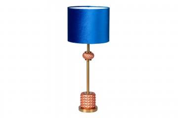 LAMPARA SOBREMESA CRISTAL 26x26x65 CM