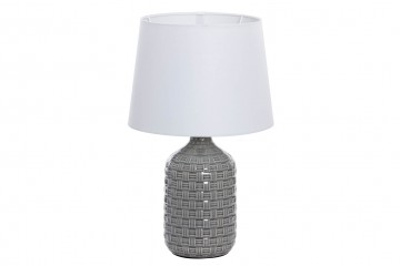 LAMPARA SOBREMESA CERÁMICA 28x28x46 CM