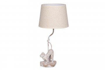LAMPARA SOBREMESA MONO POLIRESINA 26x26x54 CM