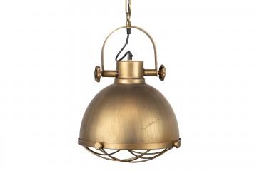 LAMPARA TECHO METAL DORADO 30x30x116 CM