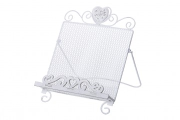 ATRIL METAL BLANCO 24x23,5x26,5 CM